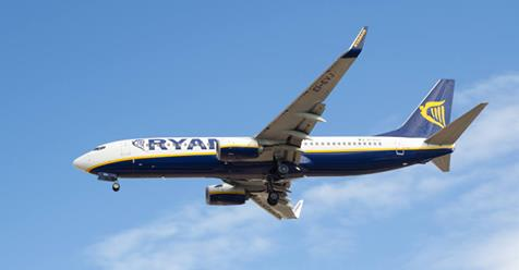 RYANAIR CONFIRMS FLIGHTS FROM CORVERA AIRPORT