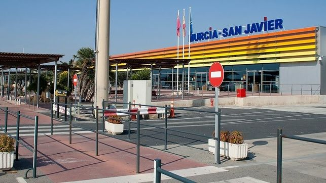 Farewell to Murcia San Javier airpot today